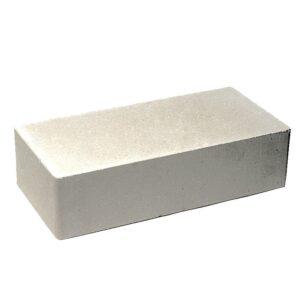 Кирпич гладкий белый 250х120х65 мм.
