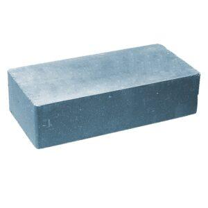 Кирпич облицовочный полнотелый одинарный гладкий, голубого цвета, размер 250х120х65 мм