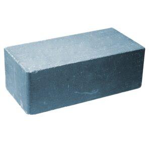 Кирпич облицовочный полнотелый полуторный гладкий, голубого цвета, размер 250х120х88 мм