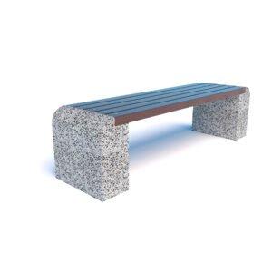Скамейка бетонная Евро 1