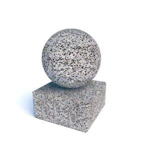 Ограждения бетонные Сфера на подставке
