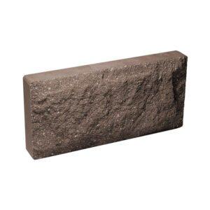 Плитка облицовочная для цоколя, шоколадного цвета, скала, 250х120х30 мм