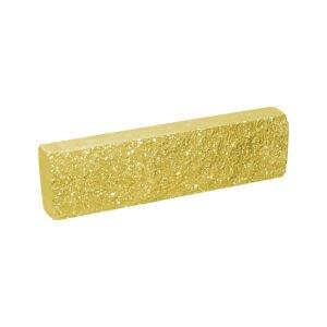 Плитка облицовочная желтая 250x65x30