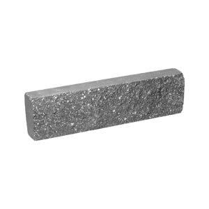 Плитка облицовочная, серого цвета, 250x65x30 мм