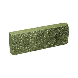 Плитка облицовочная зеленая 250x88x30