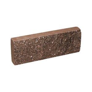 Плитка облицовочная коричневая 250x88x30