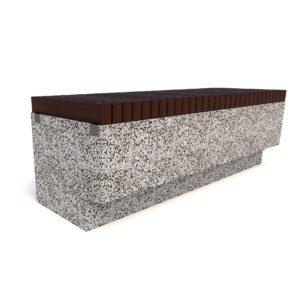 Скамейка бетонная Темп