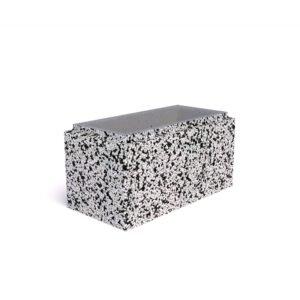 Блок бетонный для столба 400х400х200 мм