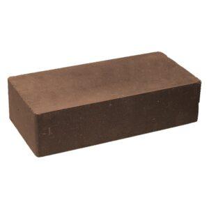Кирпич облицовочный полнотелый одинарный гладкий, коричневого цвета, размер 250х120х65 мм