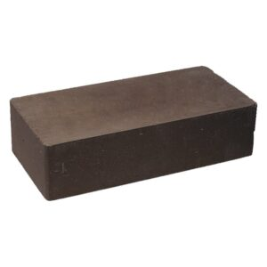 Кирпич облицовочный полнотелый гладкий, шоколадного цвета, размер 250х120х65 мм