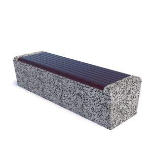 Скамейка бетонная парковая Арбат
