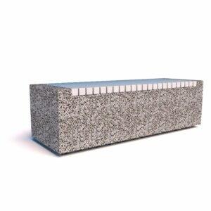 Скамейка бетонная Темп 1500