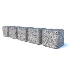 Ограждения бетонные Куб