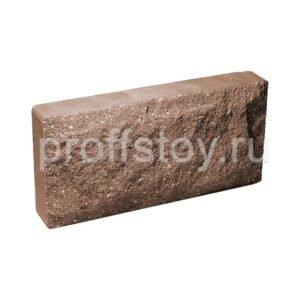 Плитка облицовочная коричневая 250x120x44