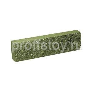 Плитка облицовочная зеленая 250x65x30