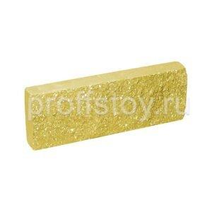 Плитка облицовочная желтая 250x88x30