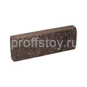 Плитка облицовочная, шоколадного цвета, 250x88x30 мм