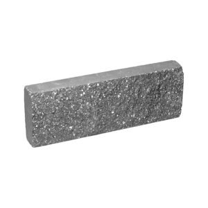 Плитка облицовочная серого цвета 250x88x30 мм