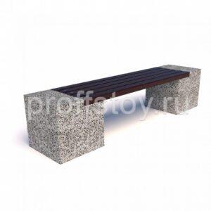 Скамейка бетонная Евро 2