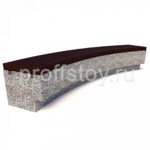 Скамейка бетонная Темп R