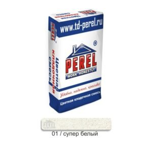 Цветная кладочная смесь Perel SL супер-белого цвета  арт.0001