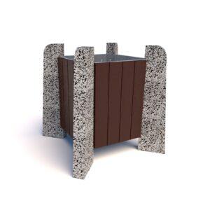 Вазон бетонный Нест