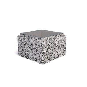 Блок бетонный для столба 300х300х200 мм