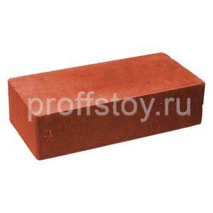 Кирпич облицовочный полнотелый, гладкий, красного цвета, размер 250х120х65 мм