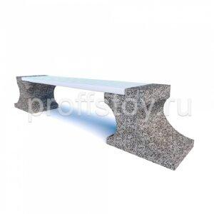 Скамейка бетонная Анвиль